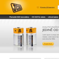 JCB baterie