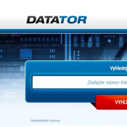 Stahování - DATATOR.cz